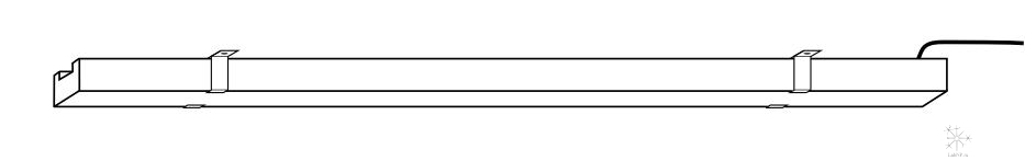AZUR установка на фиксаторы