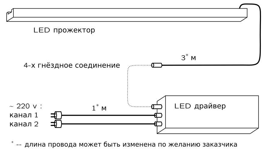AZUR 2 схема подключения